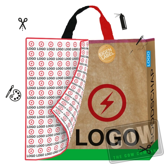 shopper met logo
