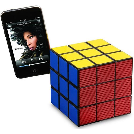 Rubiks kubus luidspreker