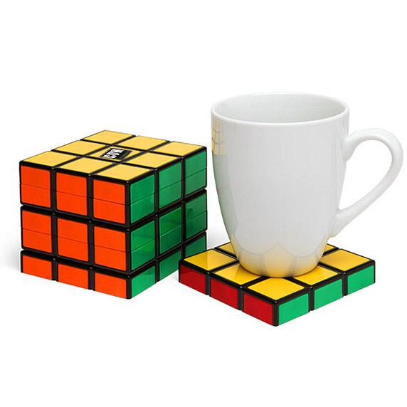Rubiks kubus onderzetter