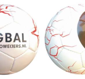 bedrukte ballen Guido Weijers