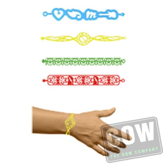 COW0484 siliconen armbandje