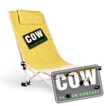 strandstoel met logo