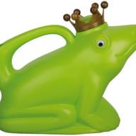 Gieters kikker kroon groen