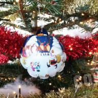 Zelfopblaasbare kerstbal