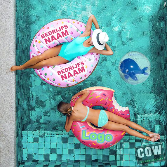 opblaasbare zwemband custom made