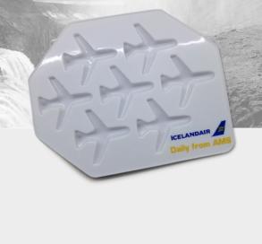 ijsblokjesvorm icelandair