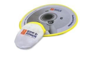 bedrukte frisbee