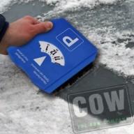 COW_IJskrabber parkeerschijf