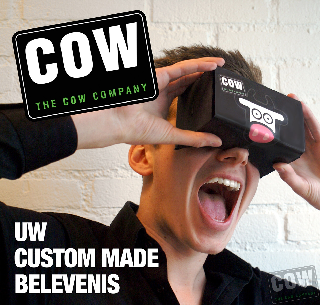 Google cardboard VR-bril