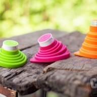 Opvouwbare rubberen speaker, alle kleuren mogelijk