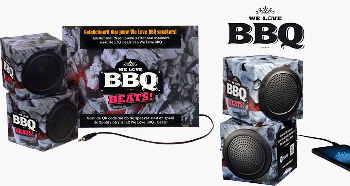 BBQ speakerset