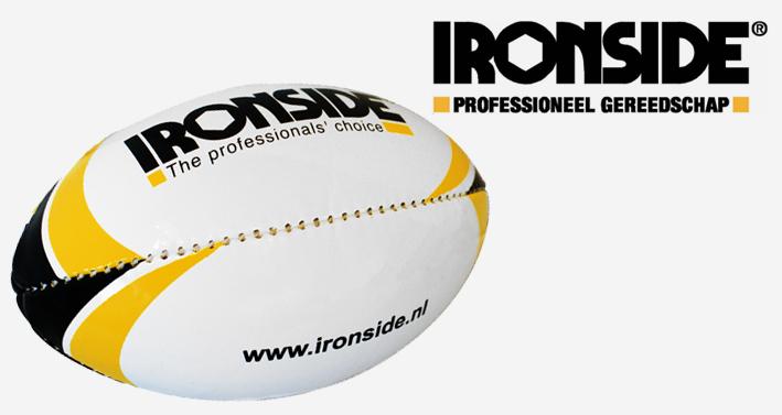 Ironside en Ferney scoren met rugbybal!