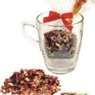 4032-1 Weihnachts-Teeglas