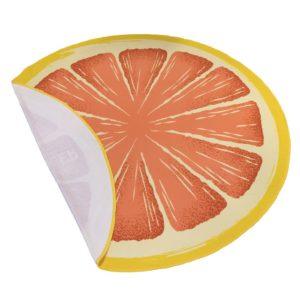 ronde fruit handdoek