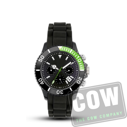 horloge met logo