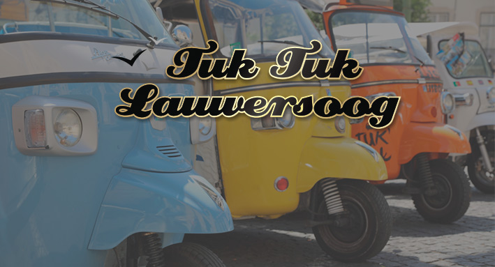 Tuktuk sleutelhangers op maat als bedankje
