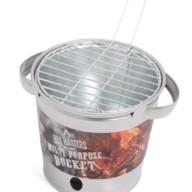 BBQ emmer zilver