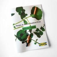 Potlood met zaden_IKEA