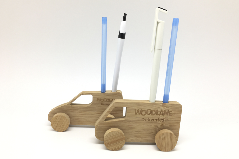 Houten speelgoed auto, busje, truck, vliegtuig of tractor