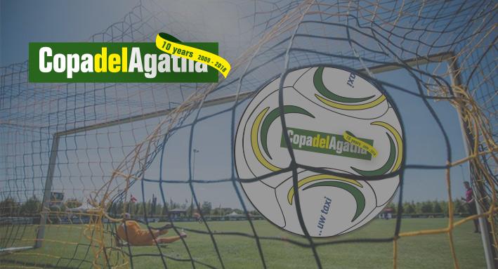 Professionele wedstrijdbal voor Copa del Agatha