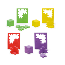 Happy cube 3d puzzel