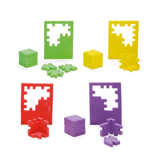 Happy cube 3d puzzel
