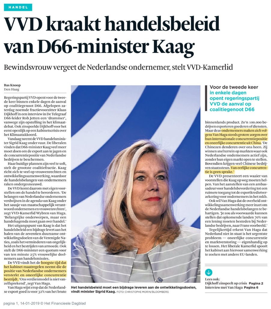 Financieel Dagblad 14012019