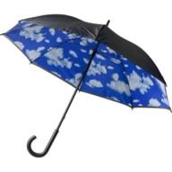 Paraplu met wolken