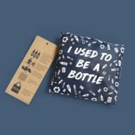 Tas van gerecyclede flessen bottlebag opvouwbaar tasje