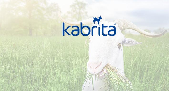 Kubussen met bedrukking voor Kabrita