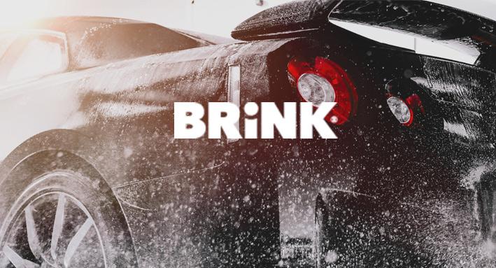 Parkeerkaart met ijskrabber voor Brink Group