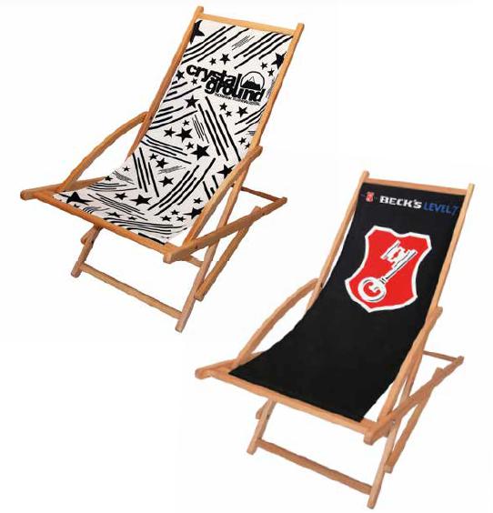 Er Was Eens Strandstoel.Strandstoel Opvouwbaar Met Logo The Cow Company