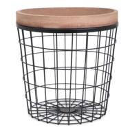 Basket met blad
