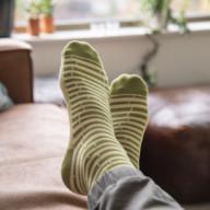 sokken met logo