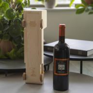 wijnhouder van hout