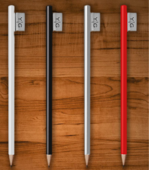 Flaglabel potloden
