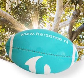 Hersense rugbyballen