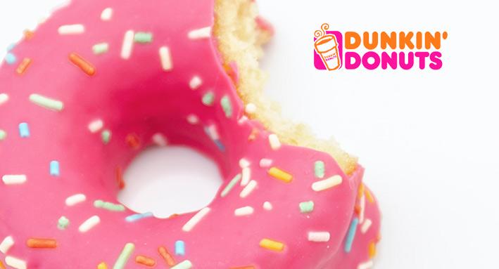 Dunkin Donuts verrast werknemers met drinkflessen!